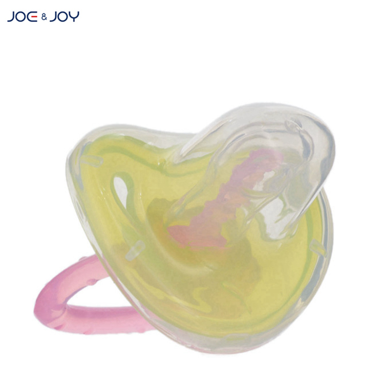 Professional manufacturer infant pacifier silicone customized service baby pacifier