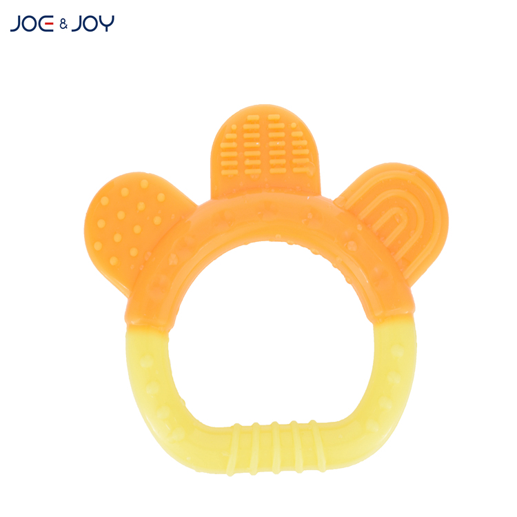 silicone teether with ring