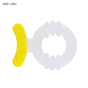 China Manufacturer BPA Free Food Grade Soft Teether Silicone Baby Teether Chew Teether for Baby