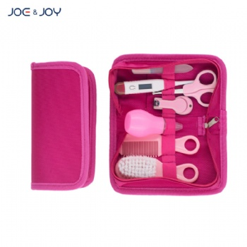 7pcs baby healthcare and grooming kit /travel portable baby care grooming kit