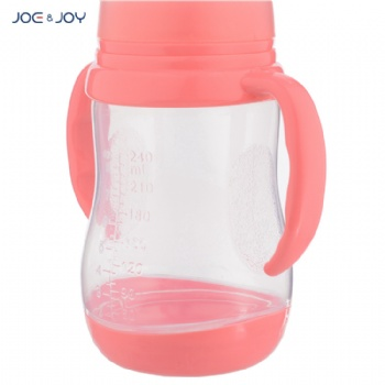 8oz/240ml Baby Feeding Bottle with Thermometer Base