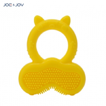 FDA NEW design silicone baby teether NUBY Teething Ring